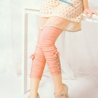 Wholesale 13 Alternative girl summer new summer casual pants Leggings pants pants color outer wear thin pantyhose