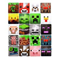 Wholesale Minecraft kitchen table Coasters hot dining insulation table Cup Mat pad DHL