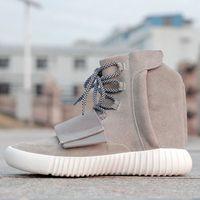 Cheap 2015 new Mens Yeezy Boost 750 Gray Blackout Outdoors Sneaker,discount Cheap West Yeezy 750 Boost, Skateboard Shoes,Sneakeheads Shoe