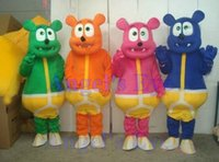 Costum Made gummy bear - Gummy Bears Mascot Costume Adult Size Gummy Bear Cartoon Mascot Costume Halloween Easter Party Mascotte Outfit Suit SW271