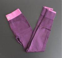 Wholesale Trousers Stretch Leggings Fitness Yoga Pants High quality Montage Double Side Elastic Force Pants Pencil Skinny Legging D631J