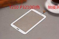 all'ingrosso capacitive touch panel-Pannello digitalizzatore sostituzione touch screen capacitivo da 7 pollici per Samsung Galaxy Tab 7.0 3 T210 P3210