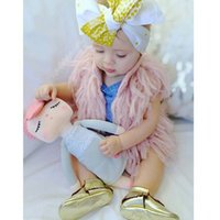 Wholesale New Kids Vest coat Baby Girls Tassels Cardigans Knitting Vests Candy Color Casual Sweaters Autumn Winter Fashion Waistcoat Coat Outerwear