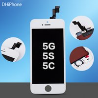 Wholesale For Iphone G S C Black color LCD Display Touch Screen Digitizer Assembly with screen resolution