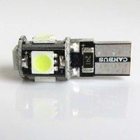 auto license plates - T10 smd led Canbus Error Free Degree Car Lights W5W SMD Auto Lights Bulb NO OBC ERROR Sidelight