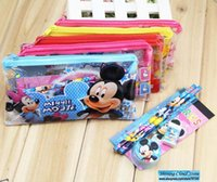 Wholesale Free ship set bag Cartoon children Stationery Set Pencil Set student gift prizes order lt no tracking