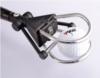 Wholesale red black Aluminum alloy golf ball picking device Golf ball retriever length cm