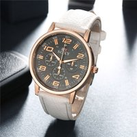 playboy watches - Fashion Playboy Quartz Watch Luxurious Business Watch With Black Leather Strap And Comprtitive Price Hot Sale