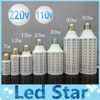 SMD led e27 - 7W W W W W W W SMD Led Bulbs Light Corn Lamp E27 E26 E14 B22 Led Lights Warm Cool White AC V Years Warranty