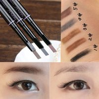 Wholesale Piece Fashion Makeup Cosmetic Eye Liner Eyebrow Pencil Beauty Tools Colors