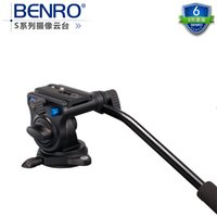 benro tripod video - Benro S2 Pro Video Heads Aluminum Hydraulic Head For Video Tripod QR4 Quick Release System Max Load kg