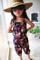 Cheap baby girl jumpsuit Best baby kids clothing