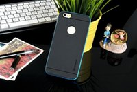 Wholesale NEWEST For iphone case plus cases Hybrid VERUS in Soft TPU Frame Bumper Gel Silicone Rubber Cell Phone Case With Package