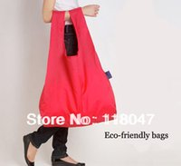 Wholesale Eco friendly shopping bags reusable bag Folding Bags storage container