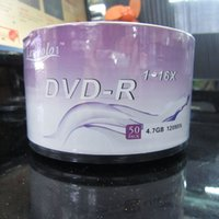 Wholesale AAA Factory Price Blank Discs Recordable Printable DVD R for DVD Movies TV series DVDR Disc Disk GB X LENPOLO DVD R DHL Free