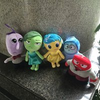 anger free - 2015 CM inside out plush toy mind big fight plush toy doll Joy fear disgust sadness anger Plush Toys EMS