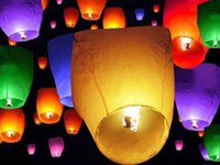 100pcs chinoise Fly Sky Paper Kongming Flottant Souhaitant <b>Lantern</b> mariage