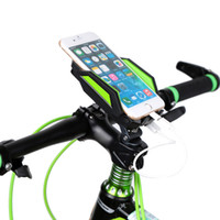 bicycle cradle - Soft Silicone Pad Bicycle Cellphone Mount Holder mAh Power Bank mm Adjustable Width Bicycle Bracket Cradle Holder DHL Y1345