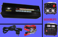 Wholesale 12000W peak Watt v to v led display Power inverter UPS with Batter charger For Solar Win Quiet and Fast Charge