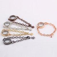 Wholesale 2014 Hot sale mm Magnetic Crystal Living Memory Locket DIY Bracelet For Floating Charms Gift L10186 order lt no tracking