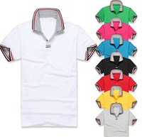 Wholesale 2014 winter men t shirt new Tees Polos fashion high quality cotton tommy brand polo shirt short sleeve