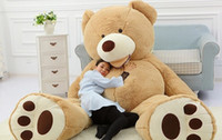 ted - 2016 CM Giant Teddy Bear Plush Toys Stuffed Ted Cheap Pirce Gifts for Kids Girlfriends Christmas