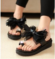 Pumps ballet flat slippers - new sponge thick bottom fashion lady sandals black lace bowknot set of wedding shoe toe crystal slippers
