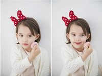 Wholesale 2015 Sweet and beautiful Children s hair accessories South Korean style accessories Bow baby headband hair bows