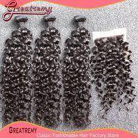extension natural hair curl - Big Curl Brazilian Virgin Hair Weave quot quot Hair Bundles pc Lace Closure x4 Human Hair Extension Remy Hair Water Wave Natural Color