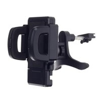 Wholesale Universal Degree Rotation Air Outlet Automatic Car Holder Bracket for Smartphone Black