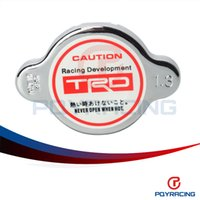 Radiator & Parts radiators - PQY STORE TRD Radiator Cap kg cm mm For TOYOTA Camry Celica Corolla Starlet Tercel PQY6311