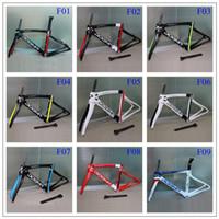 carbon fiber road bike bicycle frame - 2016 newset painting road bike frame carbon frameset full carbon fiber bicycle frameset