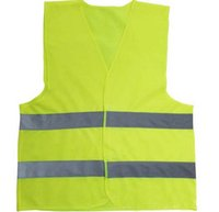 Wholesale Top quality Reflective vest working clothes provides high visibility day night for running cycling walking