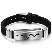 personalized gifts - Direct selling new personalized gifts titanium steel silicone bracelets