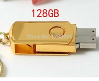 512gb usb flash drive - 2015 Real capacity Rotating steel metal pen drive usb stick new usb flash drive128gb GB GB TB TB U disk pendrive