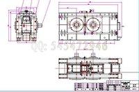 Wholesale CLF1000 roller press drawings Full Machining drawings