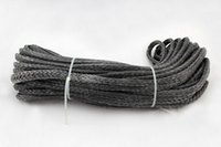 atv manufacturers - MM M Strand UHMWPE Braid Synthetic Winch Rope X4 ATV With Thimble Manufacturer Wholesaler