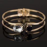 Wholesale Women Bracelet k gold Elegant Jewelry Fashion Bud Crystal Bracelets Bangles Christmas Gifts For Women