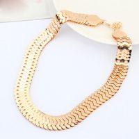 avant garde necklace - Fashion Jewelry avant garde Design Fish Scale Pendant Necklace