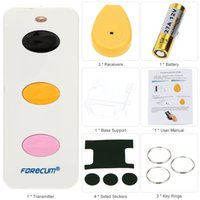 Wholesale FOReCUM Wireless Remote Control Key Finder Anti Lost Remote Key Locator Tracker security home alarme maison