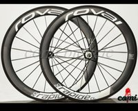 Wholesale 700C Clincher wheels mm width Carbon Wheels mm Clincher Straight Pull Road Bicycle Wheelset with Powerway R36 Hubs