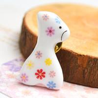 badge marketing - The new small fresh art Fan Meng Department ceramics badge brooch clothes accessories Sen Department of Japanese flea market
