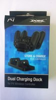 Wholesale Dual Charging Dock For ps4 Wireless Controller With Battery Pack USB Cable