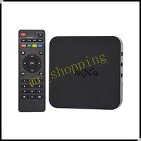 Wholesale MXQ Android TV Box Amlogic S805 Quad Core GB GB HDMI Android Kodi MXQ XBMC Box Media player