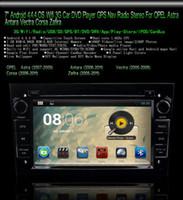 7 pulgadas Android 4.4.4 Reproductor de DVD del Coche de GPS Para el Opel Antara, Astra Corsa, Vectra Zafira Wifi 3G Gratis Tarjeta de 8GB SCYF0490