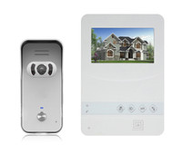 Wholesale 4 quot on sale access control system with CMOS TVL rain proof outdoor camera for villa house