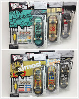 Wholesale mm Fingerboard Tech Decks genuine Skateboard Original package professional set quot almost HABITAT Expedtion quot E28K