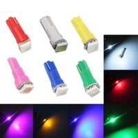 Wholesale T5 LED Bulbs Car dashboard light with Wedge Base can mix color
