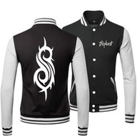 band sweatshirts - heavy metal SLIPKNOT BAND SPRING FALL WINTER Classic Jacket lover s Sweatshirt baseball uniform for MAN AND WOMAN
