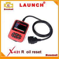 bmw - 100 orginal Launch X431 R cresetter oil light reset tool Brake pedal reset Filter reset for BENZ BMW VW AUDI HONDA ROEWE